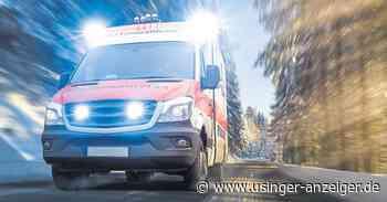 Wehrheim: 82-Jähriger fährt ungebremst in Traktor - Usinger Anzeiger