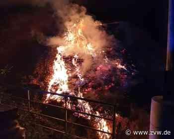Flächenbrand im Bereich Haghof bei Alfdorf - Alfdorf - Zeitungsverlag Waiblingen
