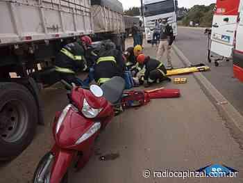 Trânsito Acidente na BR 282, em Campos Novos, fere motociclista de 39 anos O Corpo de - Rádio Capinzal
