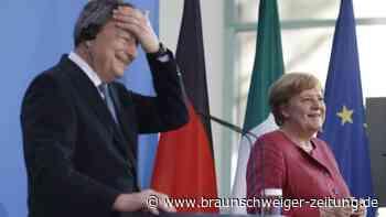 Draghi zu Gast bei Merkel in Berlin