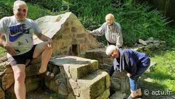 Hillion : aux Ponts Neufs la fontaine de Rocabay sort de l'oubli - actu.fr