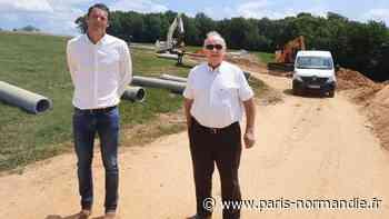De vastes projets immobiliers, sur les hauteurs de Fontaine-la-Mallet, en attente de fouilles archéologiques - Paris-Normandie