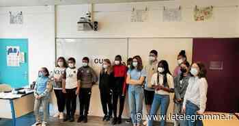 La représentation du handicap questionnée au collège La Fontaine Margot, à Brest - Le Télégramme
