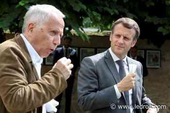 Emmanuel Macron défend Jean de La Fontaine devant sa maison natale - Le Droit - Groupe Capitales Médias