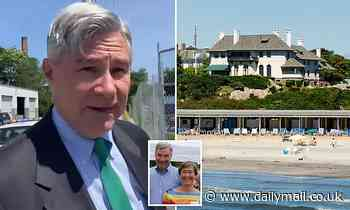 Senator Sheldon Whitehouse has a membership at 'all-white' beach club
