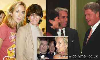 Ghislaine Maxwell 'taught Prince Andrew's ex Lady Victoria Hervey how to give oral sex'