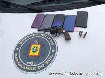 BM prende, em Sapucaia, dupla suspeita de roubos a pedestres na região - Diário de Canoas