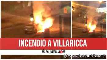 Villaricca, auto in fiamme sulla circumvallazione: va a fuoco il motore - Teleclubitalia.it