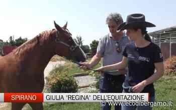 Spirano, Giulia Mandaletti e la passione per l'equitazione - L'Eco di Bergamo