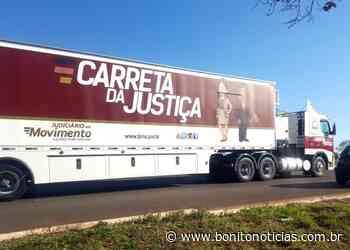 Carreta da Justiça volta nesta segunda-feira em Bodoquena - Bonito Notícias