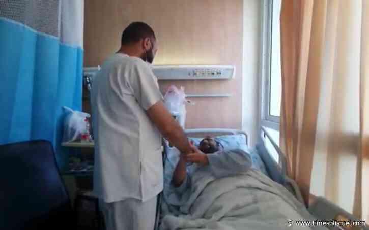 In emotional reunion, Jewish victim of Arab mob thanks Arab nurse who saved him