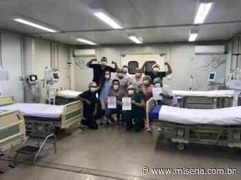 Ala Covid da UPA Limoeiro de Juazeiro do Norte registra dia sem pacientes e profissionais comemoram - Site Miséria