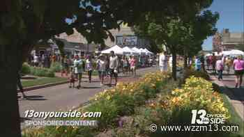 Lakeshore Art Festival in Muskegon offers something for the artist in all of us - WZZM13.com