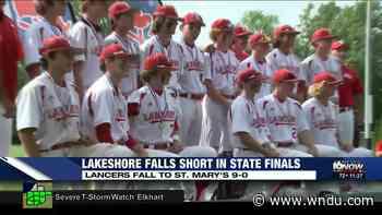 Lakeshore Baseball falls in state finals, 9-0 - WNDU-TV