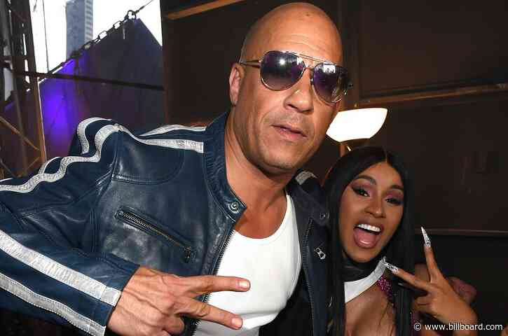 Vin Diesel Teases That Cardi B Will Be Back For 'Fast & Furious 10′: 'She Came in 'Fast 9′ Just in Time'