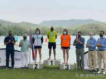 Ana Marcela Cunha é ouro nos 5km no Espanhol de águas abertas - globoesporte.com