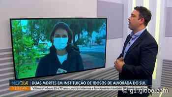 Dois idosos morrem por complicações da Covid-19 em asilo de Alvorada do Sul, diz município - G1