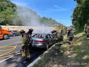 Car Ignites Into Flames On I-78 In Bridgewater - Patch.com