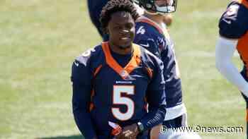 5 years after career-threatening knee injury, Bridgewater brings smile to Broncos' QB competition - 9News.com KUSA