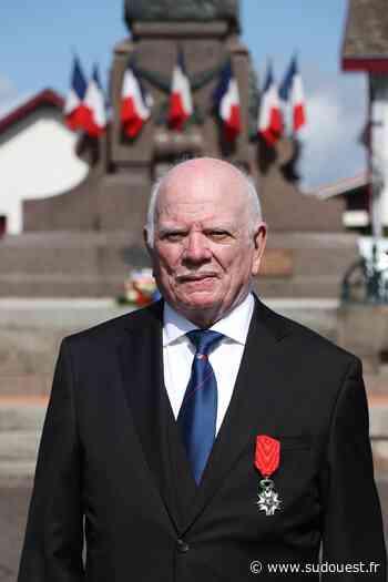 Parentis-en-Born : Marcel Gajac a reçu la Légion d'honneur - Sud Ouest