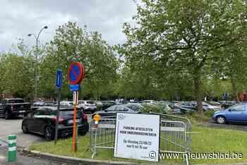 Snoeiwerken op parking Cultureel Centrum Hasselt
