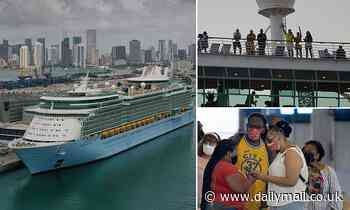 Royal Caribbean cruise sets sail from Miami with 650 passengers on board