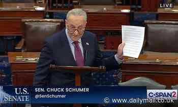 Schumer calls Trump 'despicable' for 'poisoning our democracy'