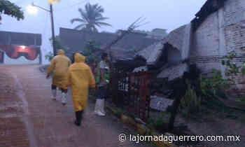 Inundaciones, árboles caídos y deslaves deja la tormenta Dolores en Guerrero - La Jornada Guerrero