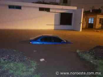 Mazatlán sufre los estragos de la primer gran lluvia derivada de 'Dolores' - Noroeste