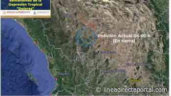 Clima: ¿En dónde se ubica y que efectos dejará Dolores a México? - LINEA DIRECTA