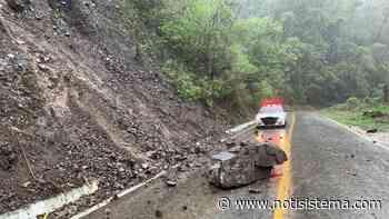 """Se debilita """"Dolores"""" en las últimas horas; provoca derrumbes menores en carreteras - Notisistema"""
