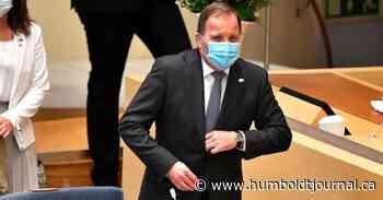 Sweden's prime minister loses confidence vote - Humboldt Journal