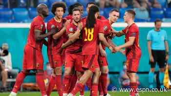 Belgium cap perfect group run with win vs. Finland