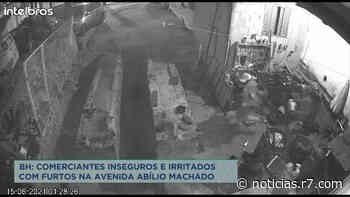Comerciantes reclamam de furtos na av. Abílio Machado, em BH - HORA 7