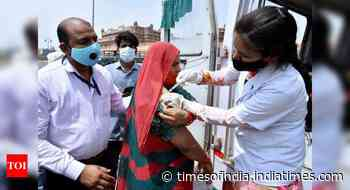 Covid: Record 85 lakh doses on Day 1 of new vaccination policy