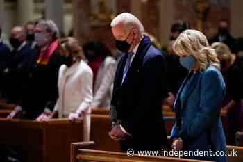 Joe Biden will attend church despite Catholic bishops' plan to deny communion as White House shuts down abortion questions