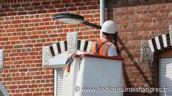 Rénovation : L'éclairage public de Laventie est en train d'être changé - L'Indicateur des Flandres