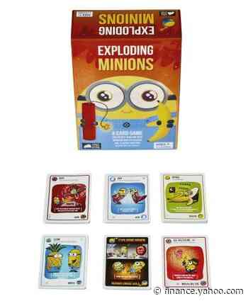 Exploding Kittens Launches New Game, Exploding Minions - Yahoo Finance