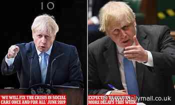 Fury as Boris Johnson axes key meeting to fix care home funding crisis