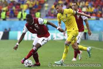 Austria beats Ukraine 1-0 to advance at Euro 2020 - Dawson Creek Mirror