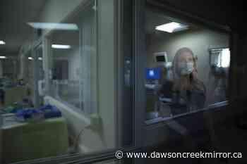 AP PHOTOS: For Calif. COVID nurses, past and present collide - Dawson Creek Mirror