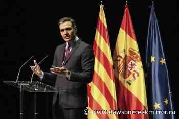 Spanish leader: 9 Catalan separatists will receive pardons - Dawson Creek Mirror