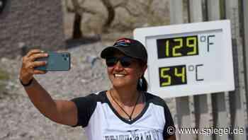 Extremtemperaturen im Death Valley: 54° Celsius im Juni - DER SPIEGEL