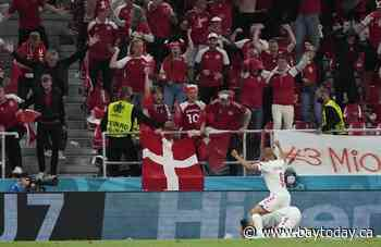 Denmark beats Russia 4-1 to advance at Euro 2020