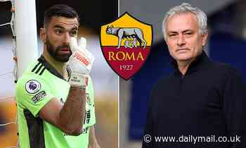 Roma 'in talks to sign Wolves goalkeeper Rui Patricio'