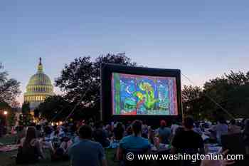 You Can Watch Movies Outdoors This Summer at the Library Of Congress - Washingtonian