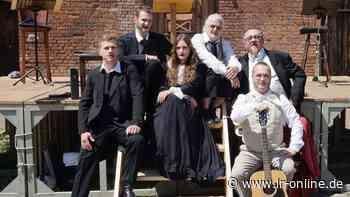 Sommertheater im Botanischen Garten: Theater 89 kommt mit Fontane nach Herzberg - Lausitzer Rundschau