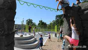Skaterbahn in Elbe-Elster: Der Sportpark in Herzberg ist eröffnet - Lausitzer Rundschau