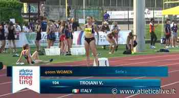 Nembro: V.Troiani sotto i 53 - Naldi 6,36 nel lungo - Queen Atletica