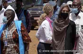 Angelina Jolie visits Burkina Faso as U.N. Special Envoy - Dawson Creek Mirror